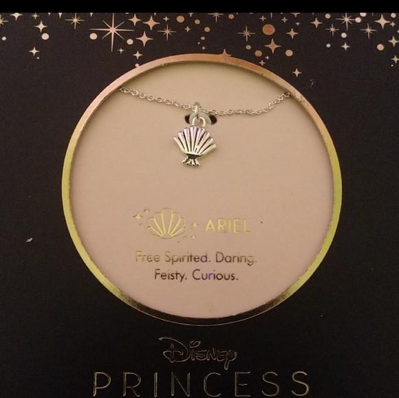 34b75841e649 Dainty Disney Ariel Princess Necklace